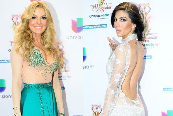 Estas actrices lucieron atrevidos modelitos en los Premios TVyNovelas, &...
