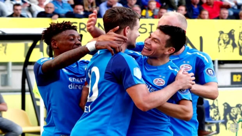 'Chucky' volvió a ser figura en Holanda, anotó su segundo gol con el PSV