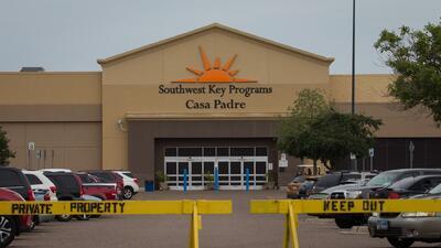 Planean abrir un nuevo centro de detención en Texas por el alto número de niños separados de sus familias