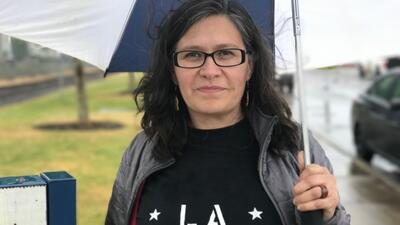 La activista mexicana Maru Mora.