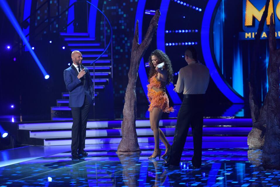 Casper Smart quedó encantado con Marlene Favela y Ana Patricia.