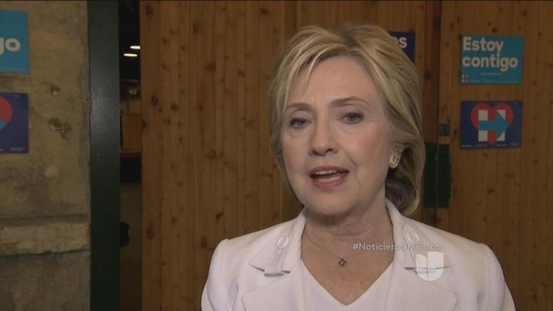 Transcript: Arantxa Loizaga's Interview with Hillary Clinton on Noticier...