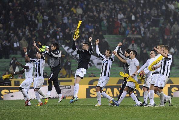 Udine seguirá viendo a su equipo participando en la presente Liga Europa.