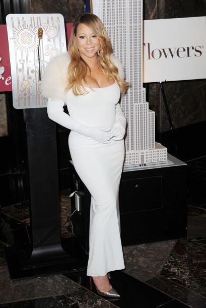 Mariah se presentó como parte de la tradición del Empire State 'Love Abo...