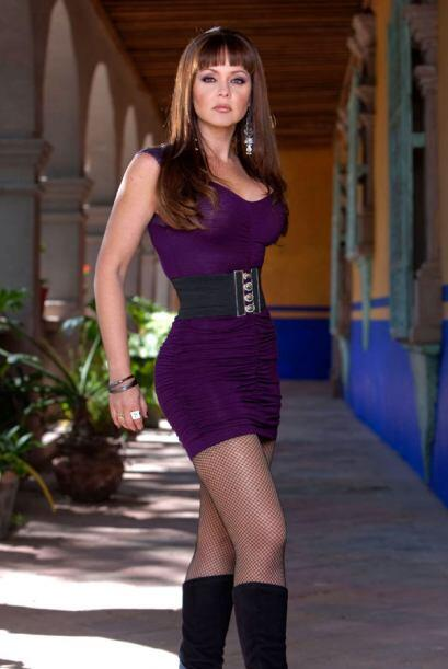 Gabriela Spanic, la actriz y ex reina de belleza venezolana, interpret&o...