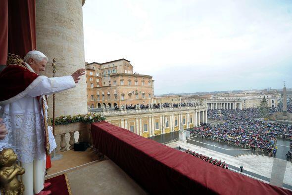 El Papa Benedicto XXI ocupó el cuarto lugar en las preferencias de los e...