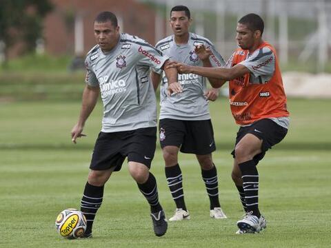 Ronaldo practicando, el ´Fenómeno´ descartó qu...