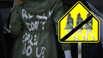Cuando la ropa habla: desde Melania Trump hasta Lady Gaga han generado polémicas