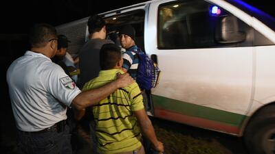 El llamado 'muro de México': zona en donde autoridades de ese país detienen a migrantes de Centroamérica