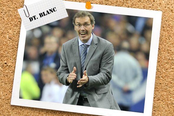 El técnico elegido esta semana fue el galo laurent Blanc, quien parece e...