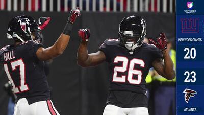 Sin mayores dificultades, Atlanta derrotó a los Giants en duelo de lunes por la noche
