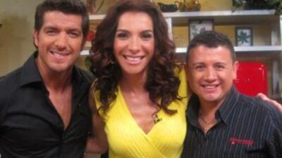 Maggie con Martín Castillo