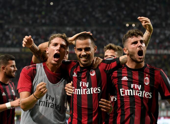 13. A.C. Milan (Italia): 316 millones de euros