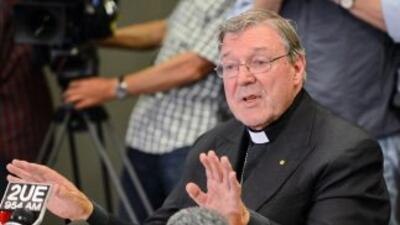 El cardenalGeorge Pell.