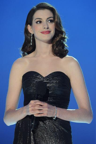 Mejor actriz de reparto-> Anne Hathaway (Les Misérables).