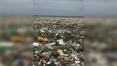 El impactante video que evidencia la alta contaminación por plástico en los océanos