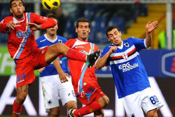 También Sampdoria y Catania repartieron puntos, aunque el marcador en es...