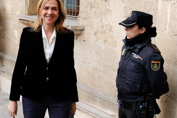 La infanta Cristina explicó durante seis horas y media de declaración ju...