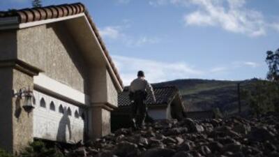 Miles de viviendas sin electricidad, casas dañadas cierre de carreteras...