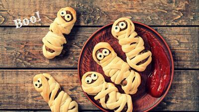 9 ideas fáciles para decorar tu comida con motivos de Halloween