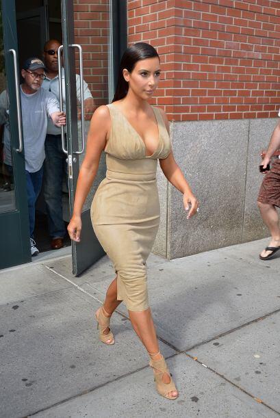 Pero desde que está con Kanye la vemos más glamorosa.Mira aquí los video...