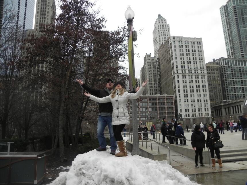 Renzo y Maria Esther visitaron la ciudad y suburbios de Chicago DSCN7419...