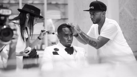 A photo published to Diddy's Facebook page on October 20, 2017.
