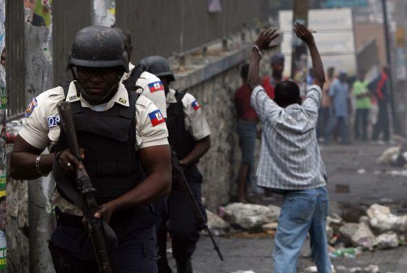 A finales de noviembre se vivió una ola de violencia por las elecciones...