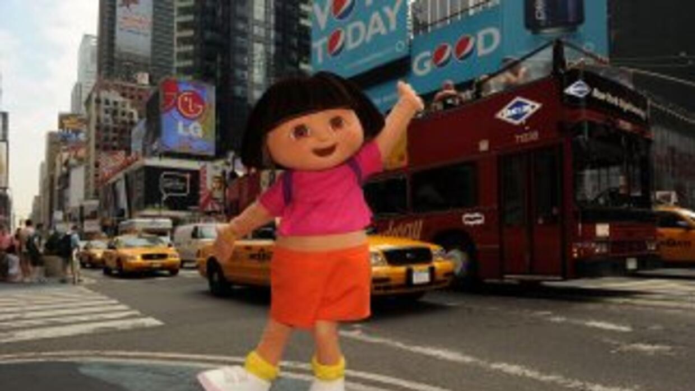 Dora la Exploradora, el popular personaje de la cadena Nickelodeon.