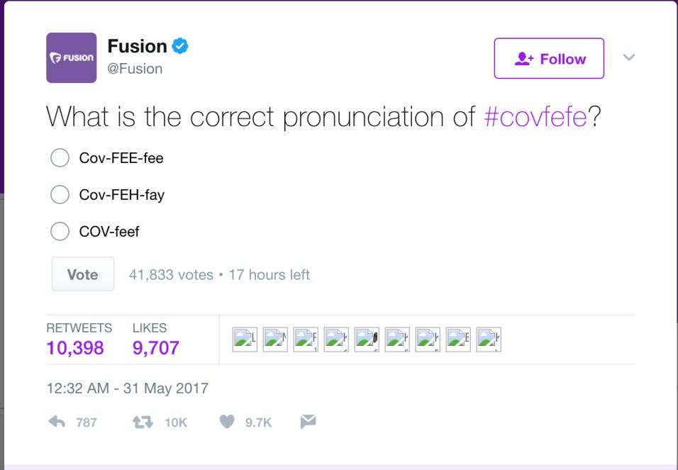El presidente usó una palabra inexistente en un tuit e Internet explotó...