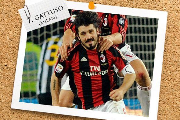 Además de meter duro la pierna, Gennaro Gattuso convirtió el tanto del t...