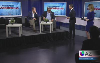 Programa especial Conversando con Congresistas: Rubén Gallego y Raúl Gri...