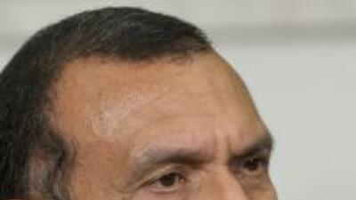 El presidente hondureño.