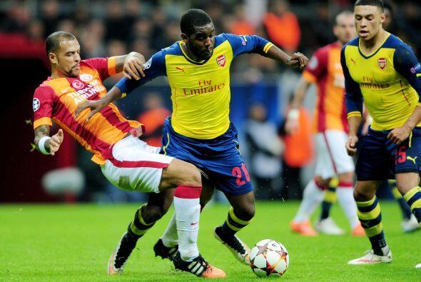 El Arsenal no pasó complicaciones en su visita al Galatasaray ganando po...
