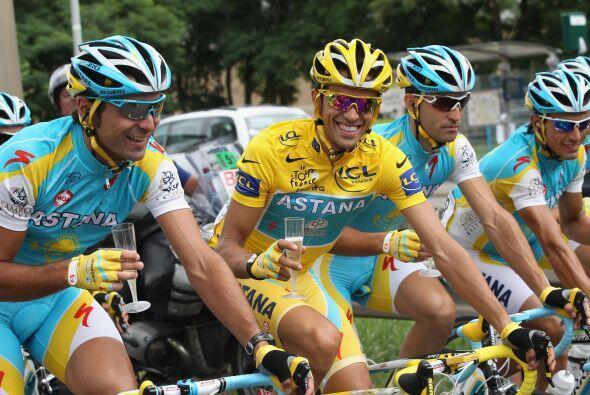 Pero esta vez, toda la atención fue para Alberto Contador, el flamante c...