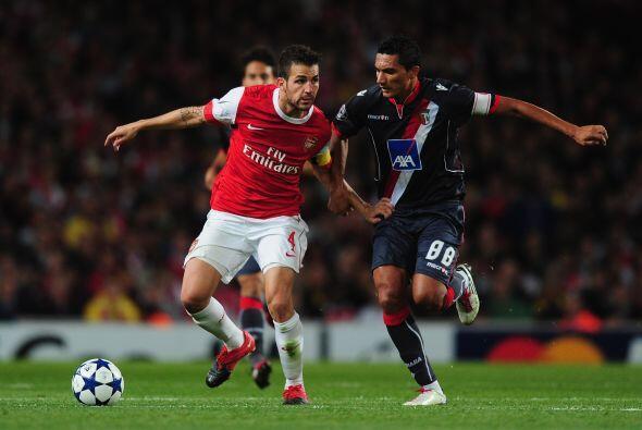 En Londres, el Arsenal se enfrentó al Braga de Portugal.