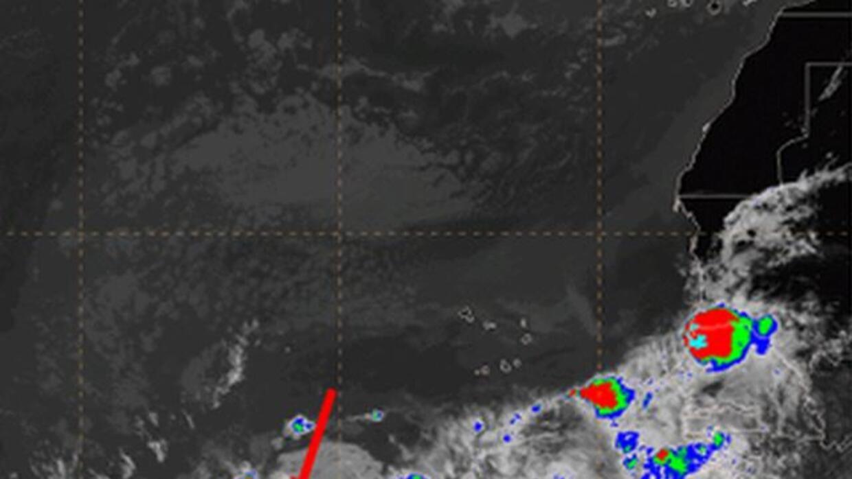 La onda tropical que se mueve en el Atlántico hacia Puerto Rico, según e...