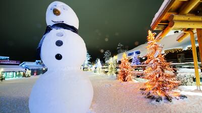 En el Polo Norte, la mágica historia de Santa Claus se vive como una realidad