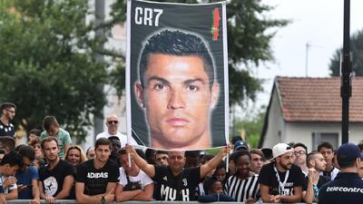 Los aficionados de la Juve alucinan con Cristiano Ronaldo