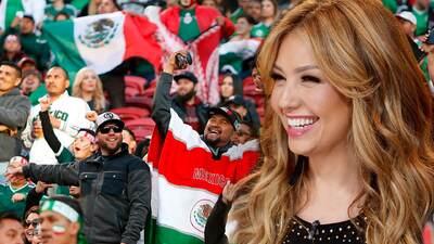 Para Thalia, en el 'Mundial a la mexicana' no puede faltar la comida