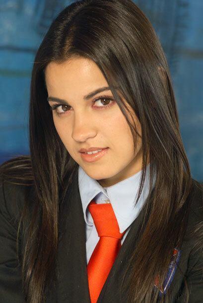 """Maite debutó en las telenovelas como toda una """"Rebelde."""
