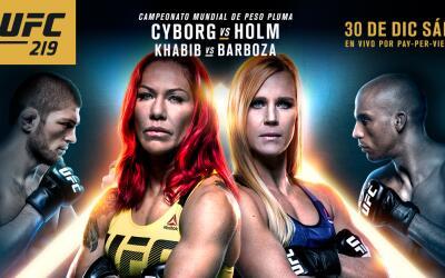 ¡No te pierdas el encuentro entre Cris Cyborg y Holly Holm!