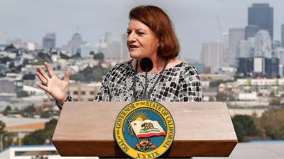 Toni Atkins será la primer mujer en estar al frente del Senado de Califo...