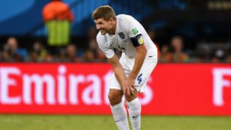 Gerrard calificó la derrota de Inglaterra como frustrante.