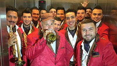 Así fue la jornada de Raúl como integrante de Banda El Recodo