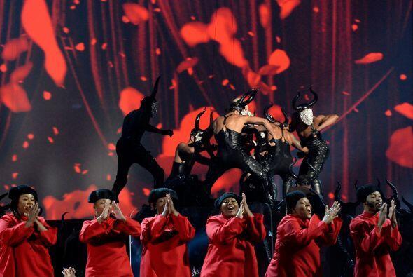 'La reina del Pop' derrocho energía.