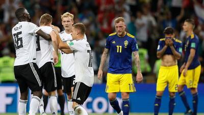 Alemania pide disculpas a Suecia por celebraciones efusivas