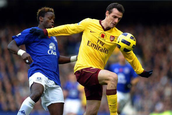 Por su parte, el Arsenal visitó al Everton, un duelo que garantizaba bue...