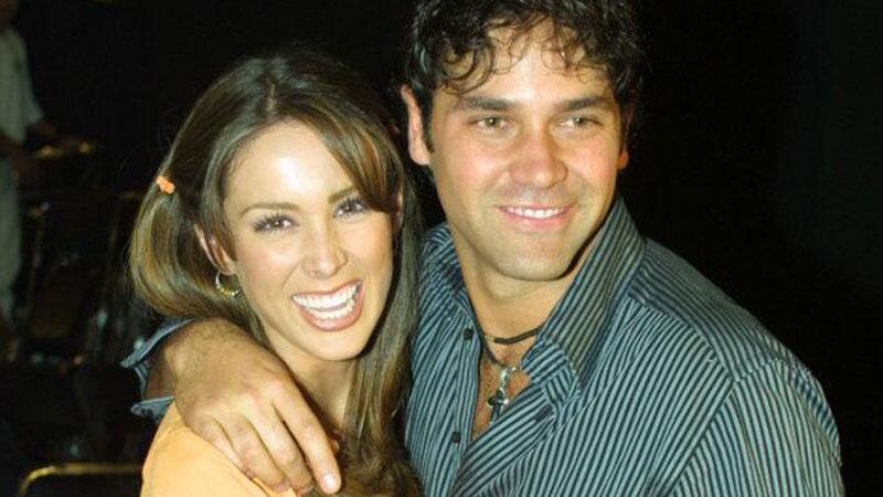 Jacqueline Bracamontes y Valentino Lanús.