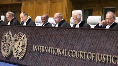 Ronny Abraham, presidente de la Corte Internacional de Justicia.